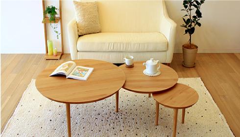 よい家具は心地よい空間をつくりだす