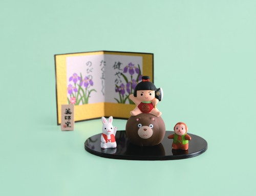 人形錦彩金太郎飾り